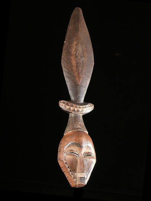 Masque Munyangi Circoncision - Pende - RDC Zaire