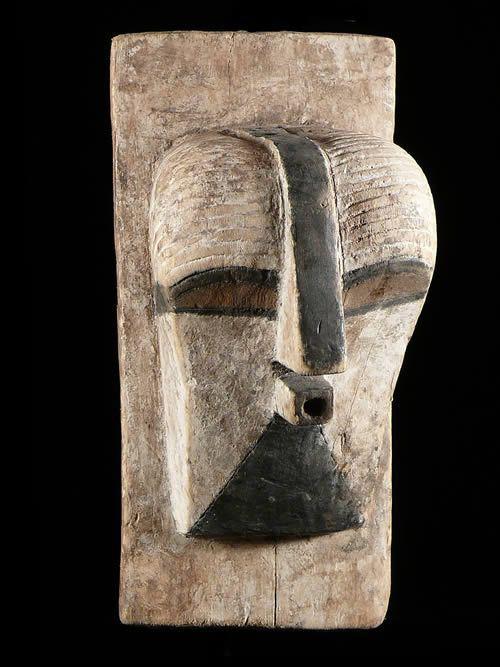 Masque de case Kifwebe - Songye - RDC Zaire