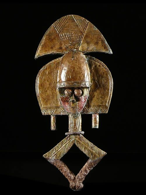 Reliquaire Bwiti Biface - Kota / Mahongwe - Gabon - Reliquaires