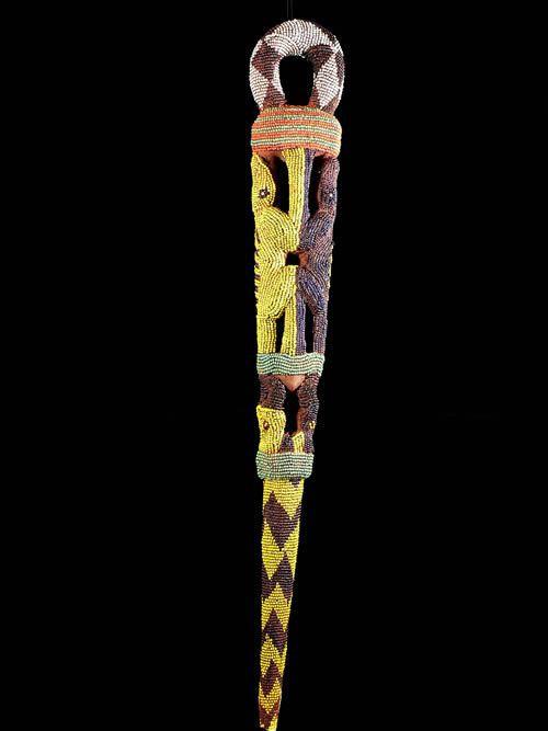 Canne de dignitaire - Tikar - Cameroun - Objets de regalia