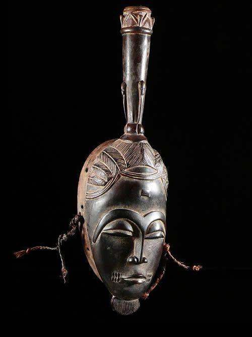 Masque Totem Kpan - Baoule - Côte d'Ivoire