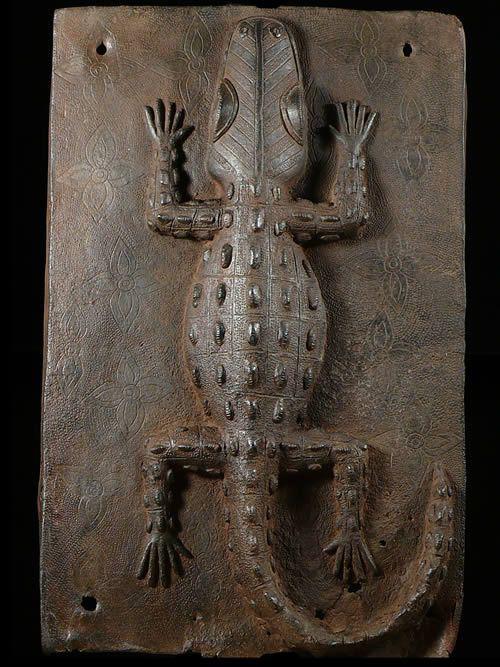 Plaque de palais - Nigeria - BIni Edo - Bronze cire perdue