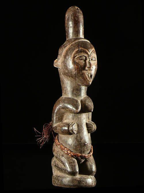 Statue Cultuelle Gehonga Bwiti - Tsogho / Mitsogho - Gabon