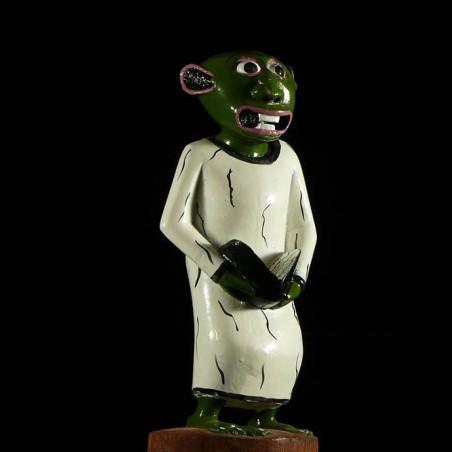 Sculpture Shetani Pretre -...