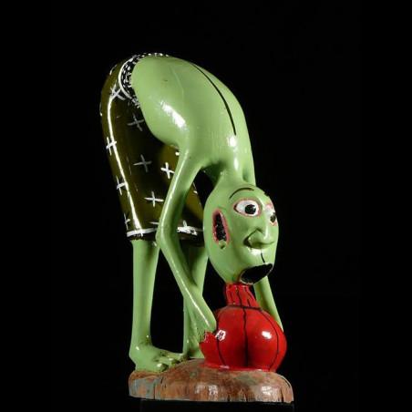 Sculpture Shetani Vert -...