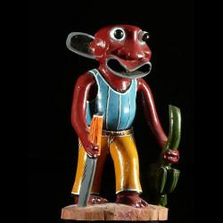 Sculpture Shetani Coupeur...