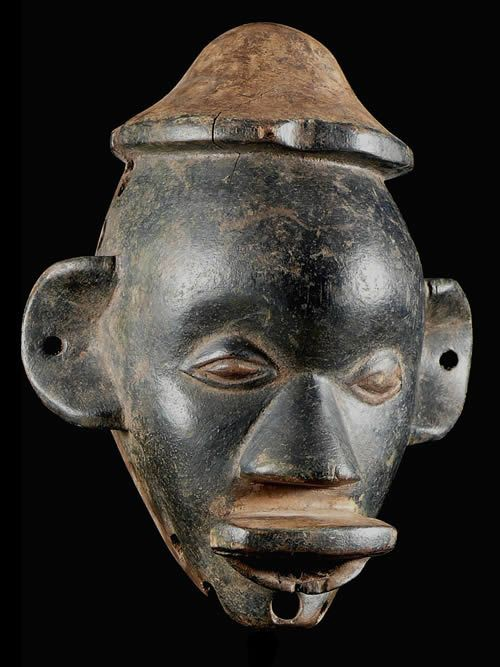 Masque rituel Lipico - Makonde - Tanzanie - Afrique Est