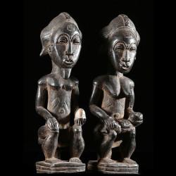 Statue votive de couple...