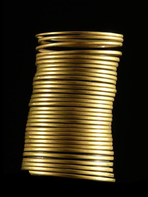 Bracelet en laiton - Rendille - Kenya - Bijoux ethniques
