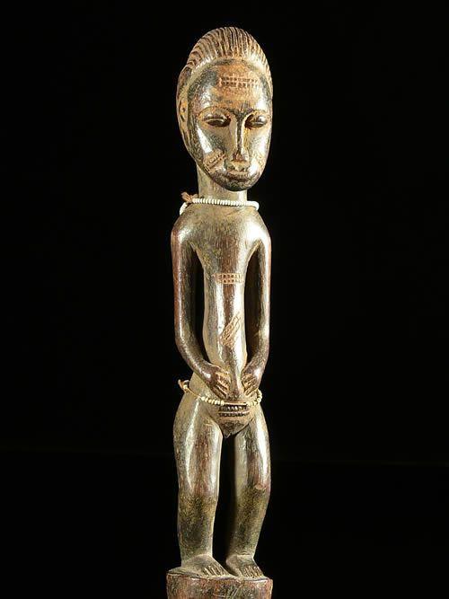 Statue Waka Sran - Blolo Bla - Baoule - Côte d'Ivoire