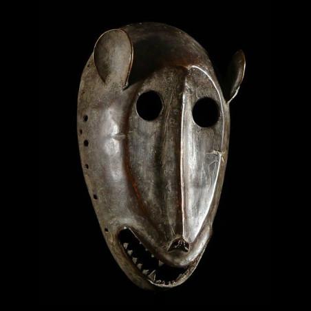 Masque Singe Kpan en Bronze...