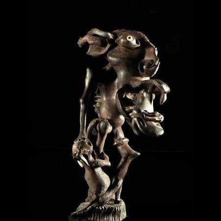 Sculpture Shetani - John...