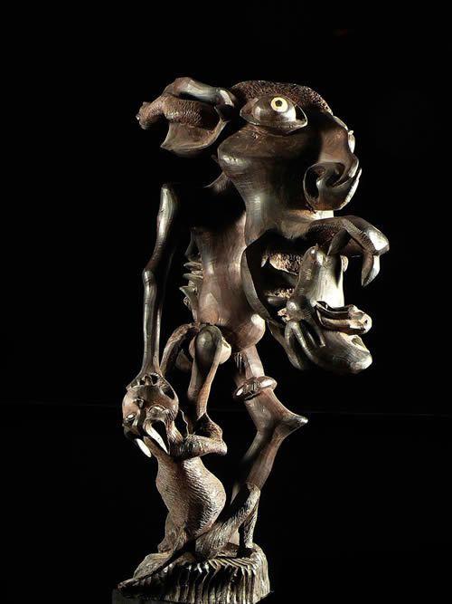 Sculpture Shetani - John Fundi - Makonde
