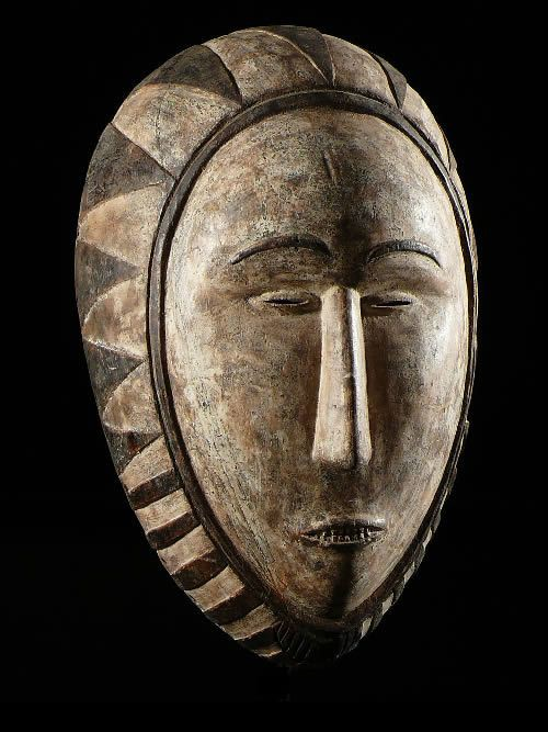 Masque Ngon Ntang - Fang / Betsi - Gabon - Masques du Gabon