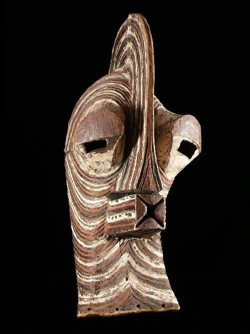 Masque Kifwebe - Songye - RDC Zaire - Masques africains