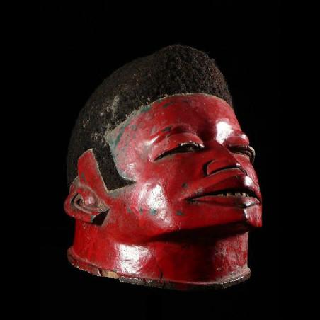 Masque casque rituel Lipico...