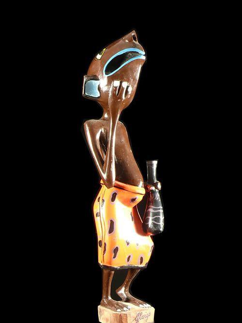 Sculpture Shetani Rat - George Lilanga - Makonde