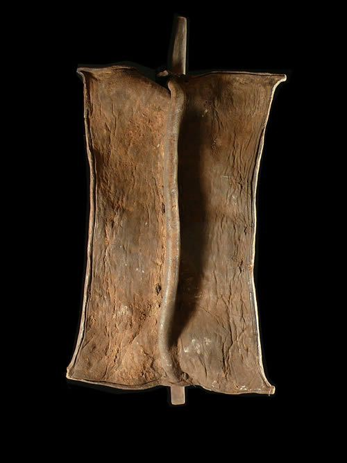 Bouclier en cuir - Toposa ou Turkana - Soudan - Boucliers