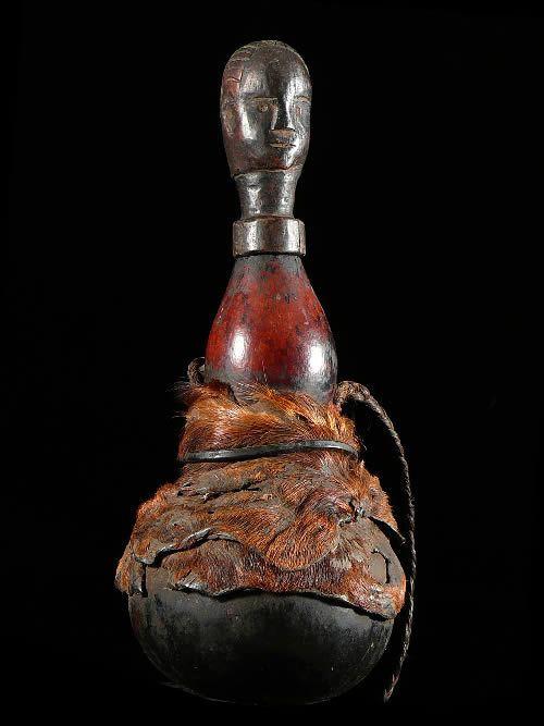 Gourde a substances magiques ou medicinales - Fipa - Tanzanie
