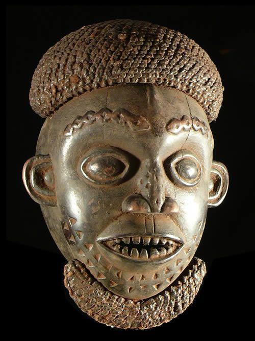 Masque casque Ngoin - Bamoun / Tikar- Cameroun