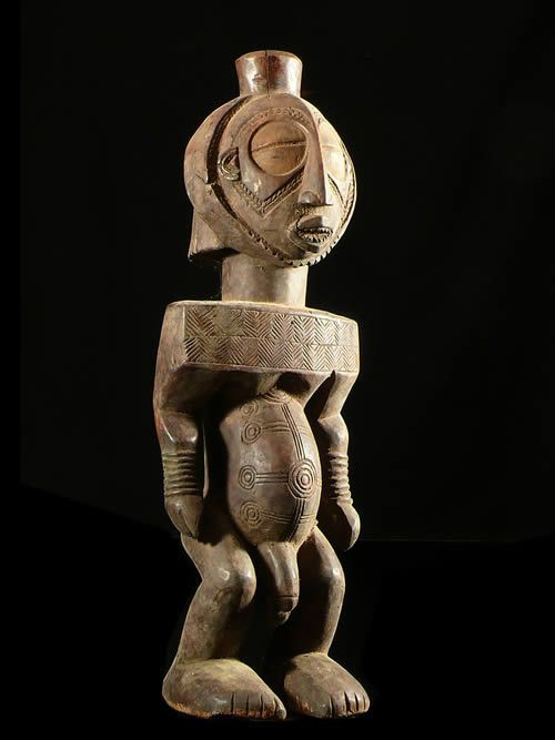 Statue Cultuelle - Boyo / Mboyo - Rdc Zaire - Statues Africaines