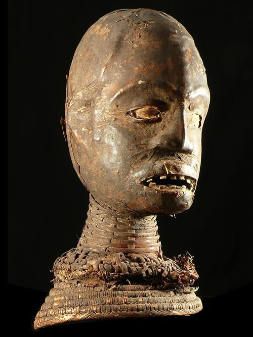 Masque cimier - Ekoi / Ejagham - Nigeria - Masques d'afrique