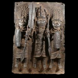 Plaque de palais - Nigeria...