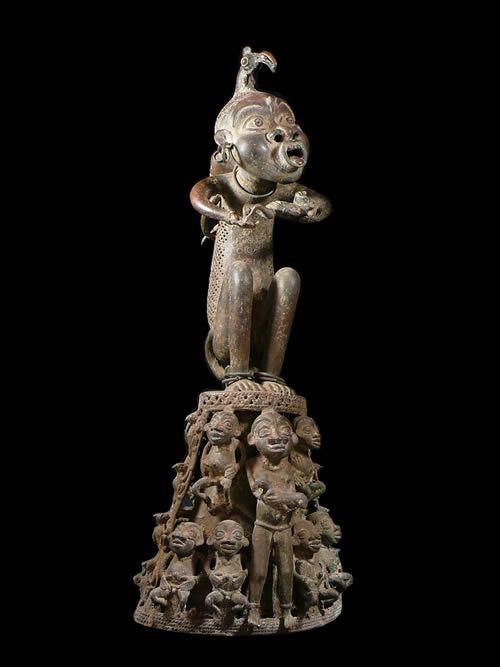 Maternite - Tikar - Cameroun - Bronze cire perdue