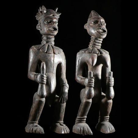 Statues ancetres royaux -...