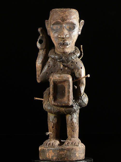Fetiche Nkisi Nkonde - Kongo / Vili - RDC Zaire