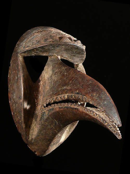 Masque de chasseur - Kran - Côte d'Ivoire / Liberia
