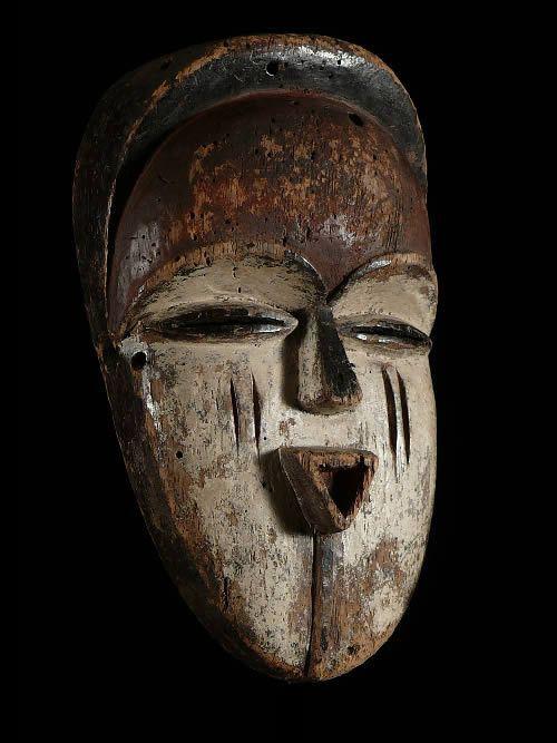 Masque rituel - Vouvi / Tshogho - Gabon