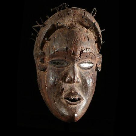 Masque rituel fétiche -...
