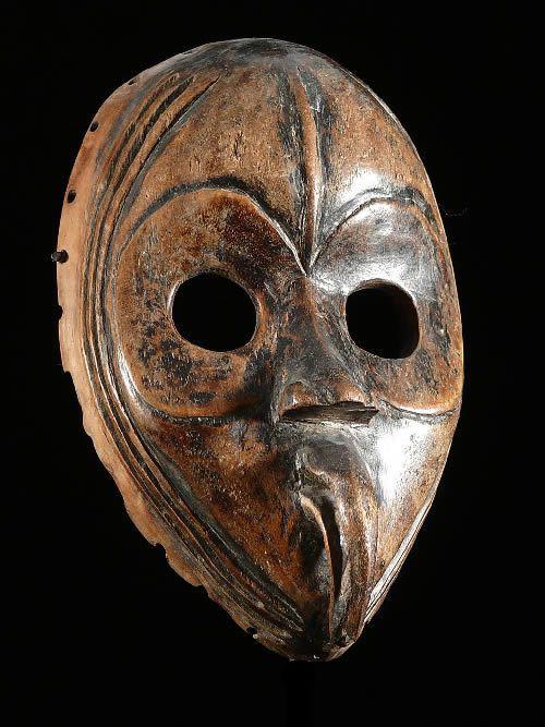 Masque a bec Koma - Dan / Mahou - Liberia - Masques africains