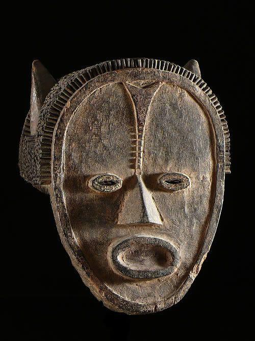 Masque Casque Tadep - Mambila - Nigeria / Cameroun