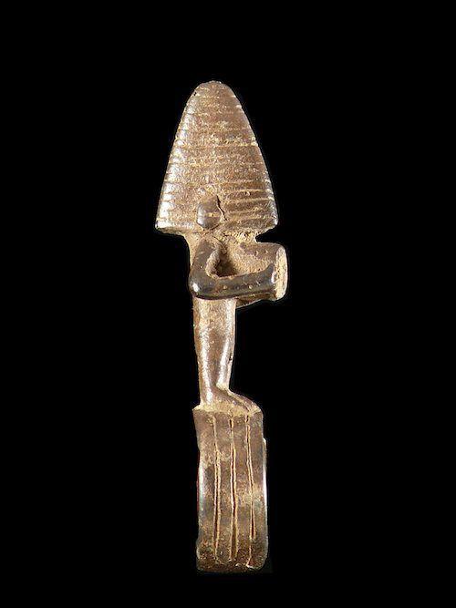 Bague amulette anthropomorphe - Mossi - Burkina Faso