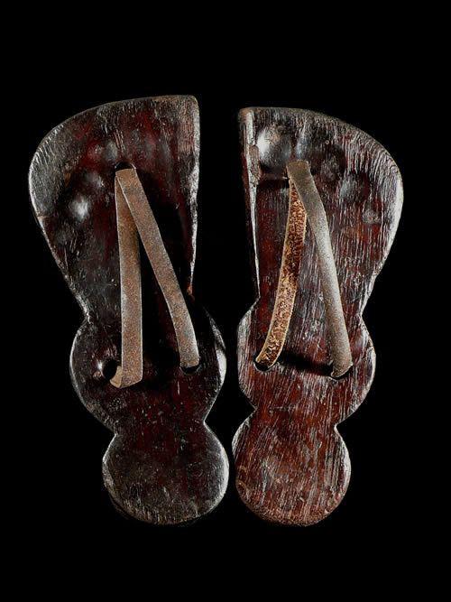 Claquettes en bois - Oromo - Ethiopie