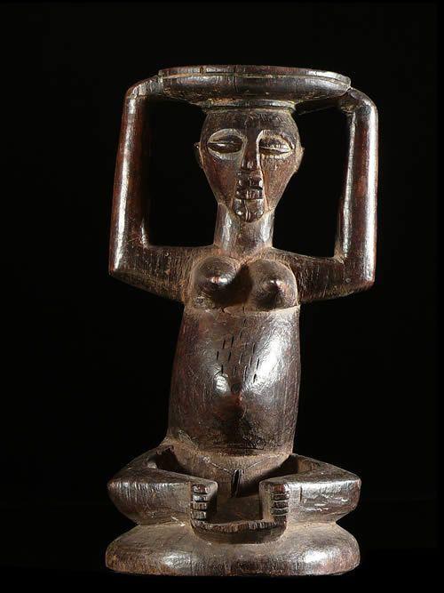 Coupe rituelle - Songye / Luba - RDC Zaire