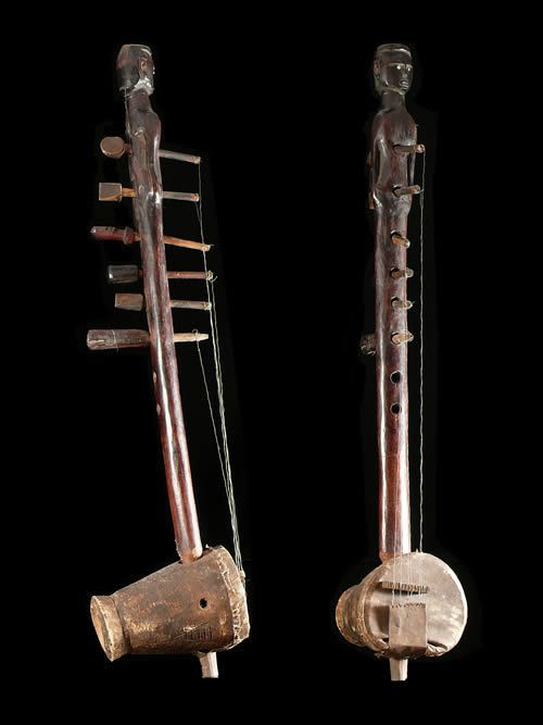Harpe Luth Kora - Nyamwezi - Tanzanie - Cordophone