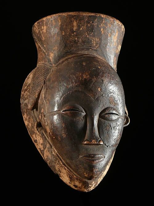 Masque noir de justice - Pounou - Gabon