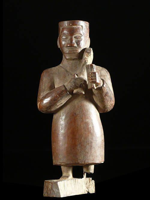 Statue Colon - Photo Africaine - Kongo - RDC Zaire