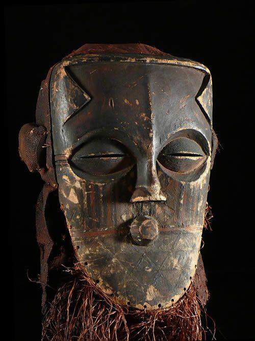 Masque polychrome - Biombo / Kuba - RDC Zaire