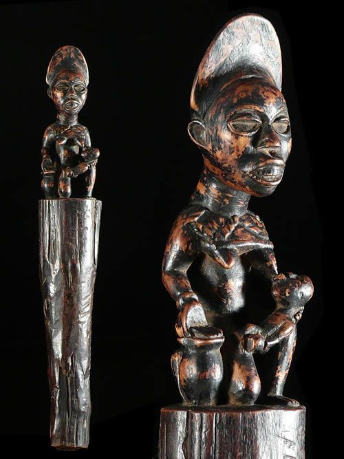 Sceptre - Kongo Yombe - RDC Zaire - Objets de regalia