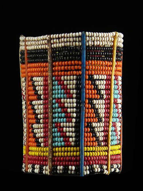 Bracelet en perles de verre - Massai - Kenya - Bijoux ethniques