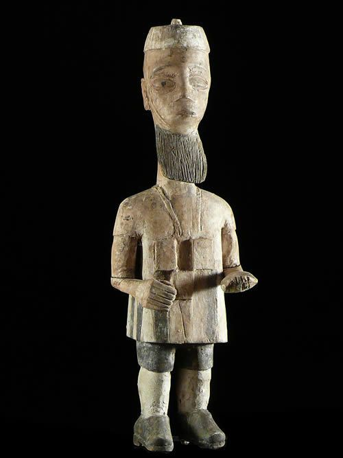 Statue Colon - Photo Africaine - Ewe - Togo