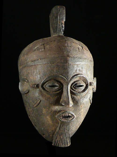 Masque casque ancien - Igala - Nigeria