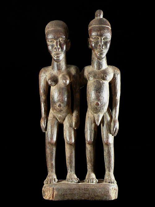 Couple ancestral - Lobi - Burkina Faso