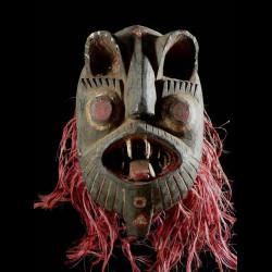 Masque Lion Kedeneh - Bwa /...