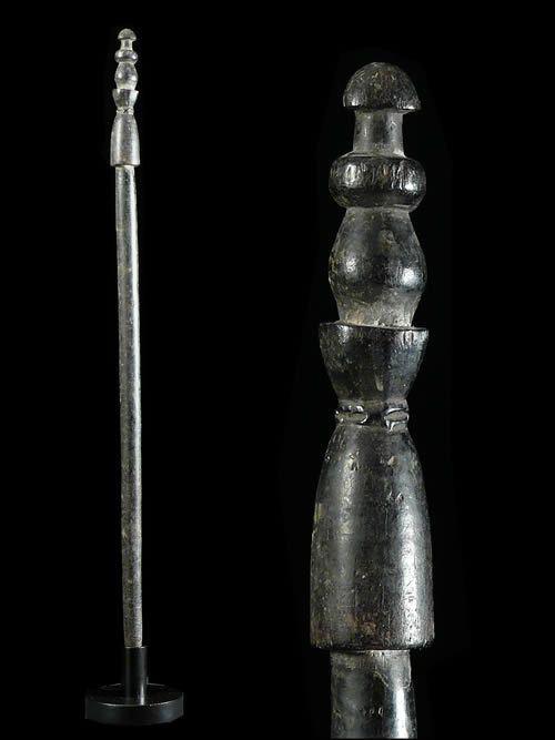 Canne ancienne - Kwere / Zaramo - Tanzanie - Objets de regalia