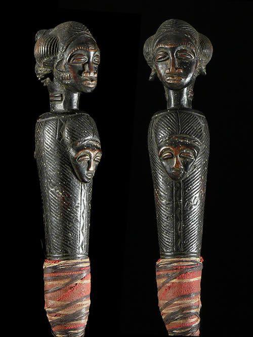 Chasse mouche royal - Baoule - Côte d'Ivoire - Objets de regalia
